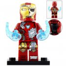 Minifigure Iron Man Damaged Suit Avengers Marvel Super Heroes Compatible Lego Building Blocks Toys