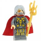 Minifigure Odin Gray Suit Marvel Super Heroes Compatible Lego Building Block Toys