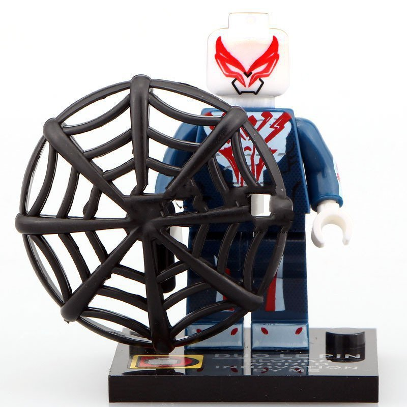Minifigure Spider-man 2099 Marvel Super Heroes Compatible ...