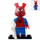 Minifigure Spider-Ham Peter Porker Spider-Man Marvel Super Heroes Compatible Lego Building Blocks