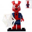 Minifigure Spider-Ham Peter Porker Spider-Man Marvel Super Heroes Compatible Lego Building Blocks