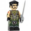 Minifigure Ra's Al Ghul from Batman DC Comics Super Heroes Compatible Lego