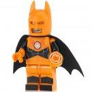 Minifigure Batman Orange Lantern Suit DC Comics Super Heroes Compatible Lego