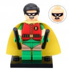 Minifigure Robin with Bats from Batman Movie DC Comics Super Heroes Compatible Lego Blocks