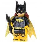 Minifigure Batgirl Black-Yellow Suit from Batman Movie DC Comics Super Heroes Compatible Lego Blocks
