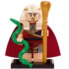 Minifigure King Tut with Green Snake from Batman Movie DC Comics Super Heroes Compatible Lego Blocks
