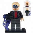 Minifigure Robber with Captain America Mask Marvel Super Heroes Compatible Lego Building Blocks Toys