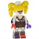 Minifigure Harley Quinn Nurse Suit DC Comics Super Heroes Compatible Lego Blocks