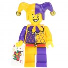 Minifigure Joker Medieval Style DC Comics Super Heroes Compatible Lego Blocks