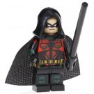 Minifigure Red Robin DC Comics Super Heroes Compatible Lego Blocks