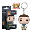 Nathan Drake Uncharted Funko POP! Keychain Action Figure Vinyl PVC Minifigure Toy