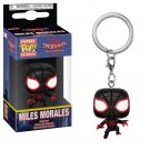 Miles Morales Spider-Man Marvel Super Heroes Funko POP! Keychain Action Figure Vinyl Minifigure Toy