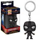Stealth Spider-Man Marvel Super Heroes Funko POP! Keychain Action Figure Vinyl Minifigure Toy