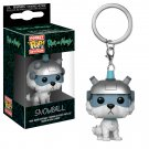 Snowball from Rick and Morty Funko POP! Keychain Action Figure Vinyl PVC Minifigure Toy