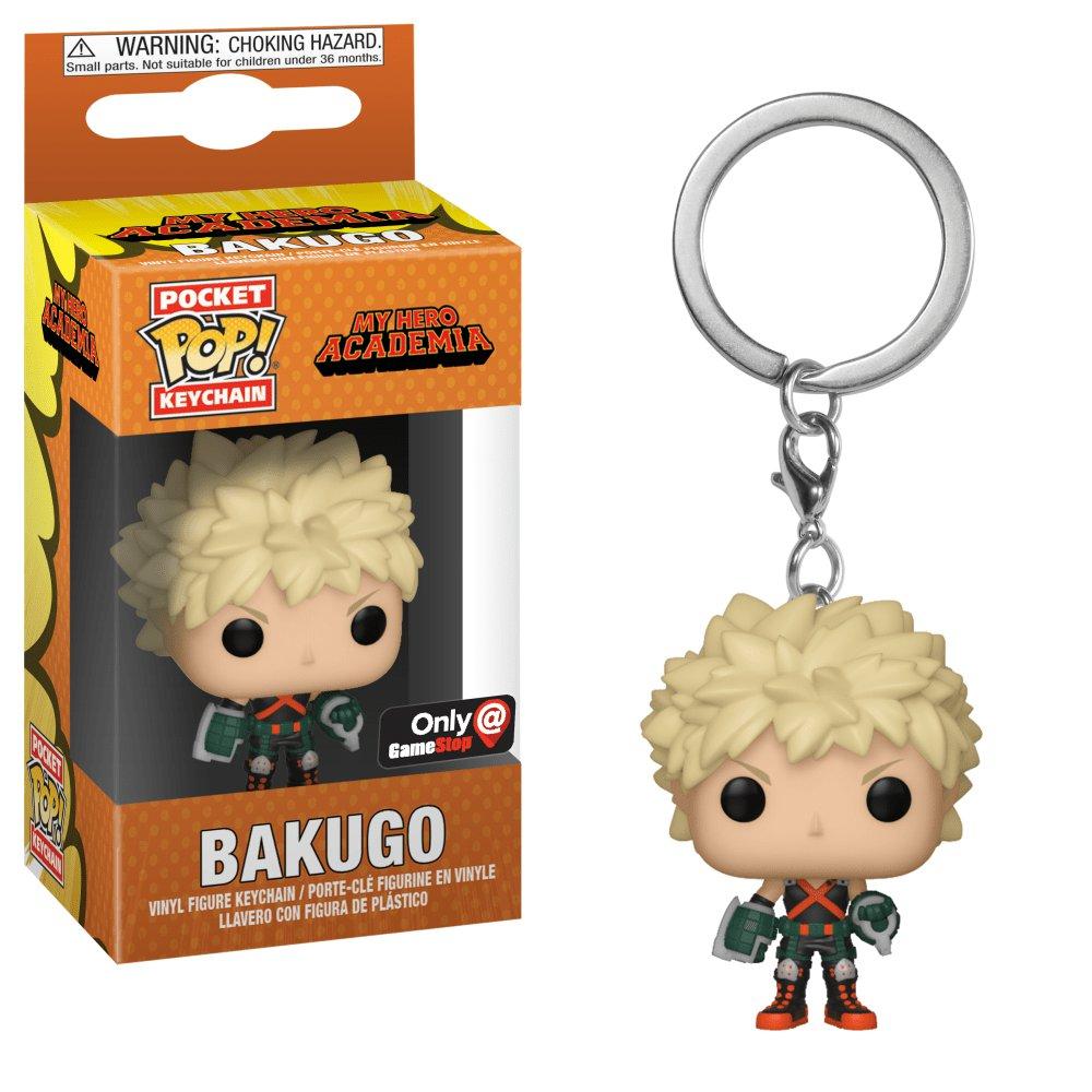 Bakugo My Hero Academia Funko POP! Keychain Action Figure Vinyl PVC Minifigure Toy