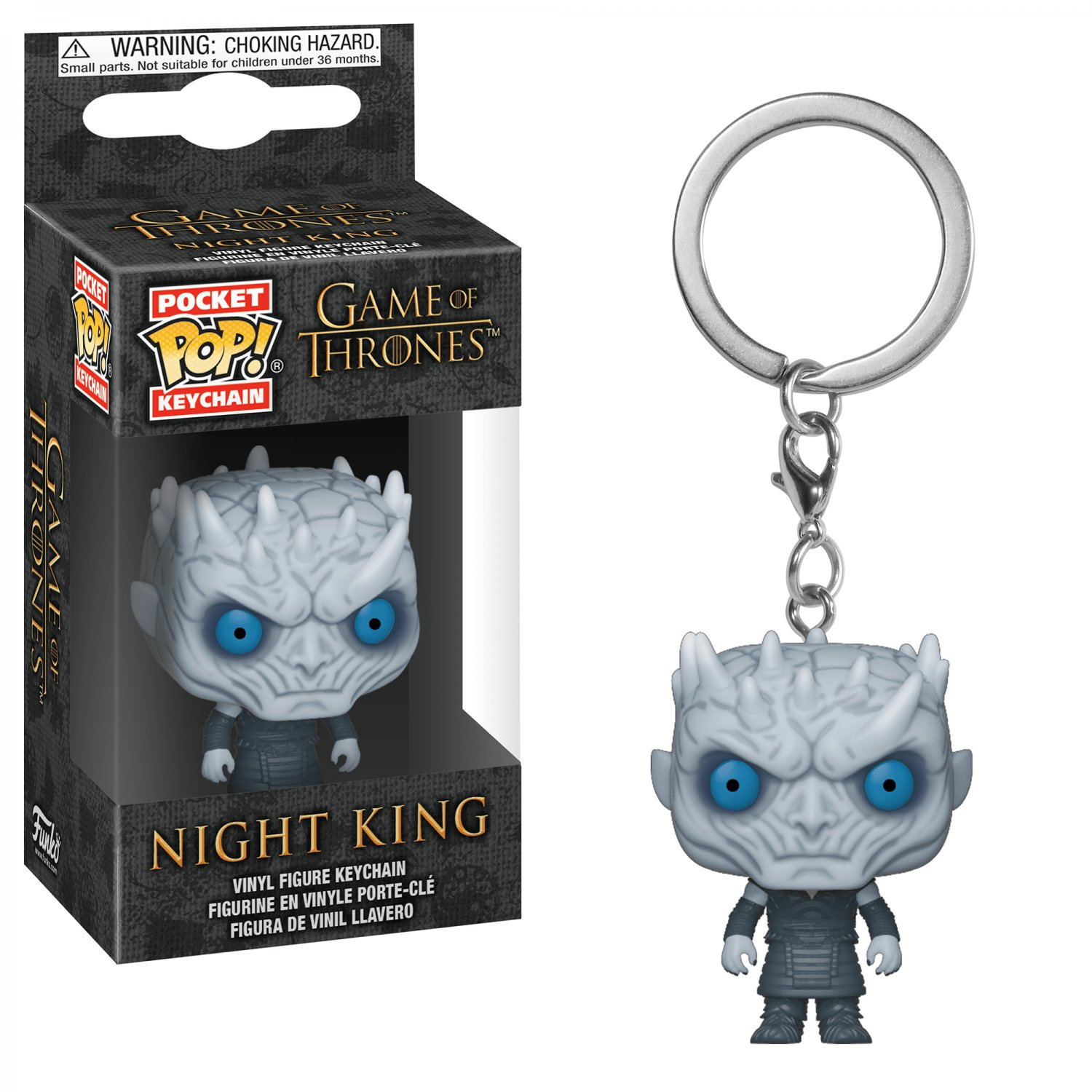 Night King Game of Thrones POP! Keychain Action Figure Vinyl Minifigure Toy