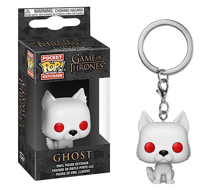 Ghost Game of Thrones POP! Keychain Action Figure Vinyl Minifigure Toy