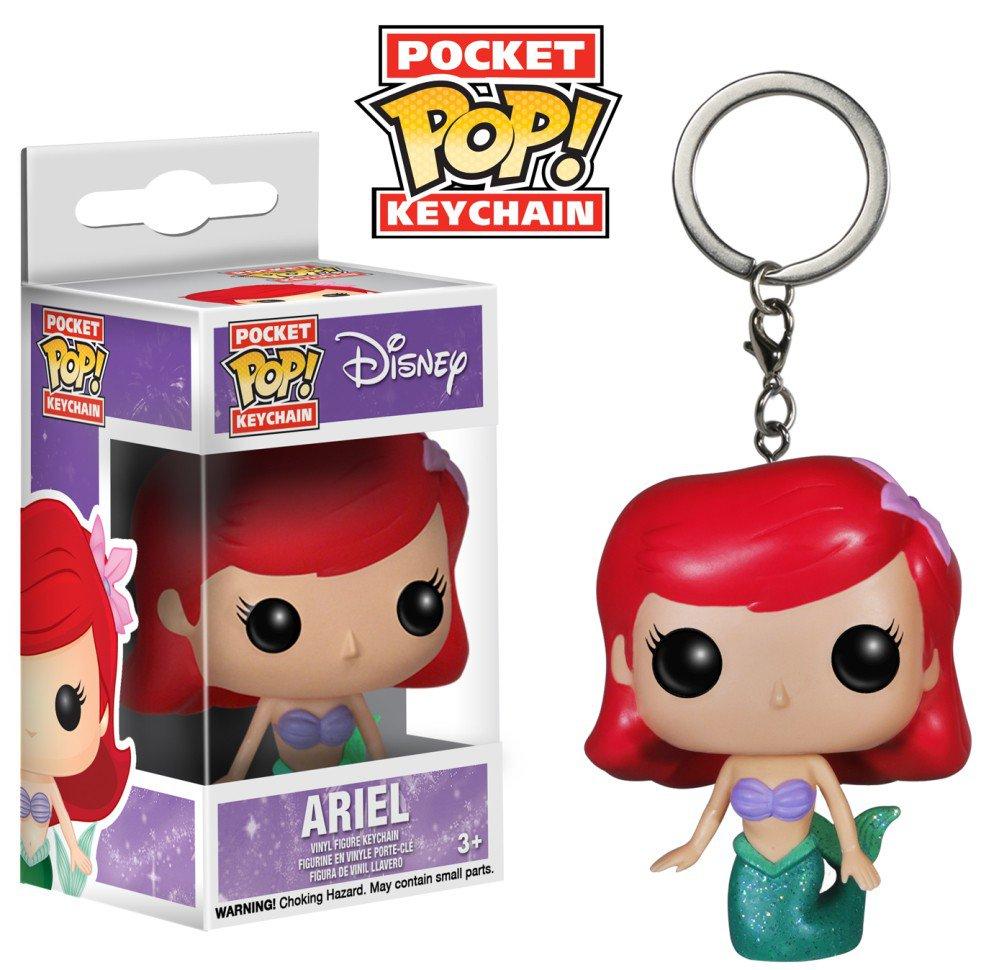 Ariel Little Mermaid Disney Funko POP! Keychain Action Figure Vinyl PVC Minifigure Toy