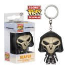 Reaper Overwatch Game Funko POP! Keychain Action Figure Vinyl PVC Minifigure Toy