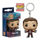 Star-Lord Guardians of the Galaxy Marvel Super Heroes Funko POP! Keychain Action Figure Minifigure