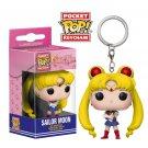 Sailor Moon Anime Funko POP! Keychain Action Figure Vinyl PVC Minifigure Toy