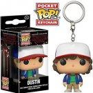 Dustin Stranger Things Funko POP! Keychain Action Figure Vinyl PVC Minifigure Toy