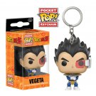 Vegeta Dragon Ball Z Funko POP! Keychain Action Figure Vinyl PVC Minifigure Toy