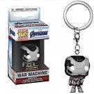 War Machine Avengers Quantum Suit Marvel Super Heroes Funko POP! Keychain Action Figure