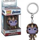 Thanos Avengers Marvel Super Heroes Funko POP! Keychain Action Figure Vinyl PVC Minifigure Toy