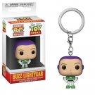 Buzz Lightyear Toy Story Disney Pixar Funko POP! Keychain Action Figure Vinyl PVC Minifigure Toy