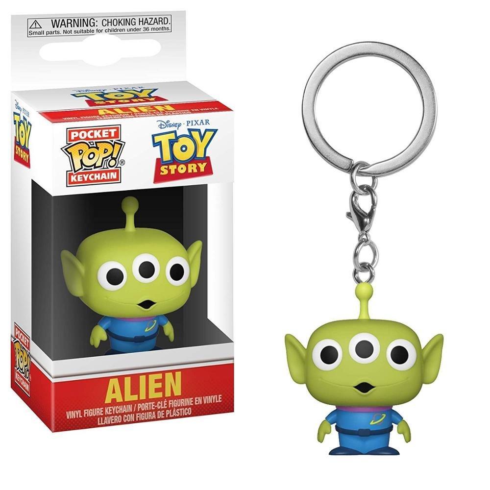 Alien Toy Story Disney Pixar Funko POP! Keychain Action Figure Vinyl PVC Minifigure Toy