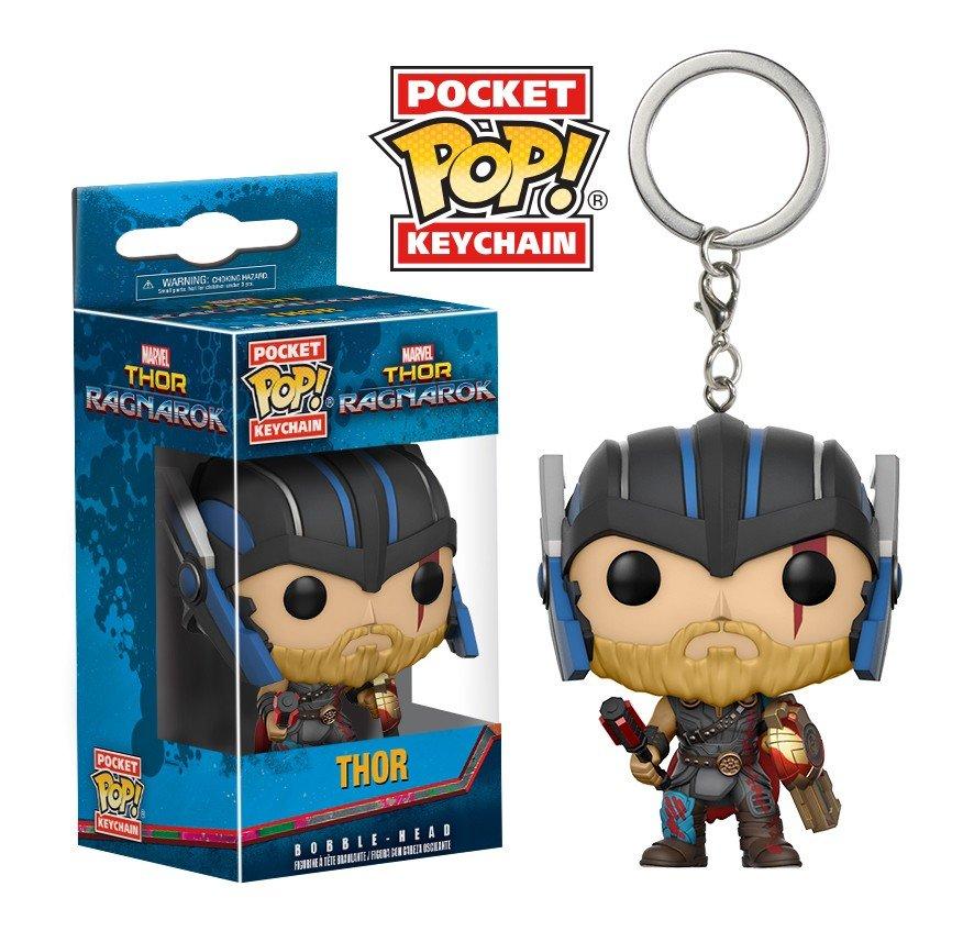 Thor Ragnarok Marvel Super Heroes Funko POP! Keychain Action Figure Vinyl PVC Minifigure Toy