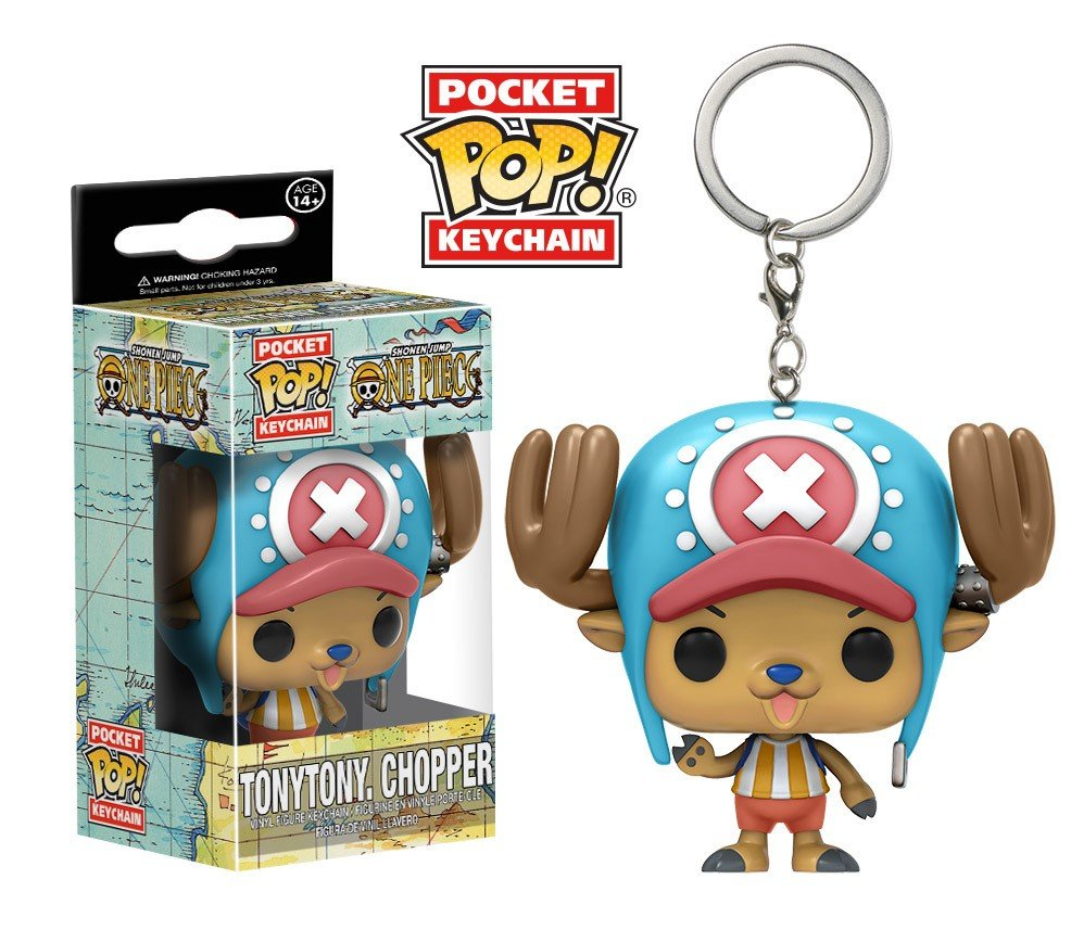 Tony Tony Chopper One Piece Funko POP! Keychain Action Figure Vinyl PVC Minifigure Toy