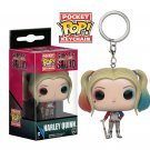 Harley Quinn Suicide Squad DC Comics Super Heroes Funko POP! Keychain Action Figure Minifigure Toy