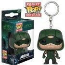 Green Arrow DC Comics Super Heroes Funko POP! Keychain Action Figure Vinyl PVC Minifigure Toy