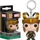 Loki Marvel Super Heroes Funko POP! Keychain Action Figure Vinyl PVC Minifigure Toy