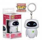Eve Disney Pixar Funko POP! Keychain Action Figure Vinyl PVC Minifigure Toy