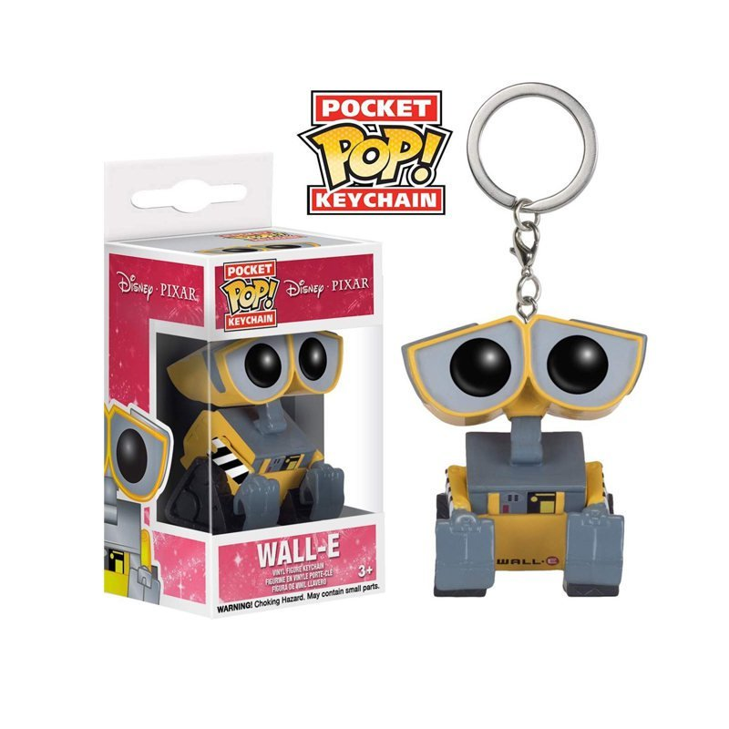 Wall-E Disney Pixar Funko POP! Keychain Action Figure Vinyl PVC Minifigure Toy