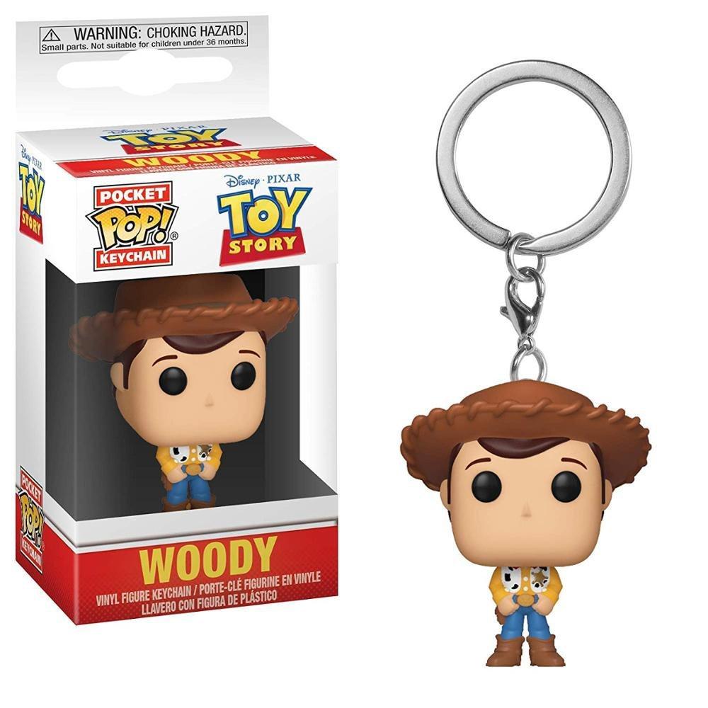 Woody Toy Story Disney Pixar Funko POP! Keychain Action Figure Vinyl PVC Minifigure Toy