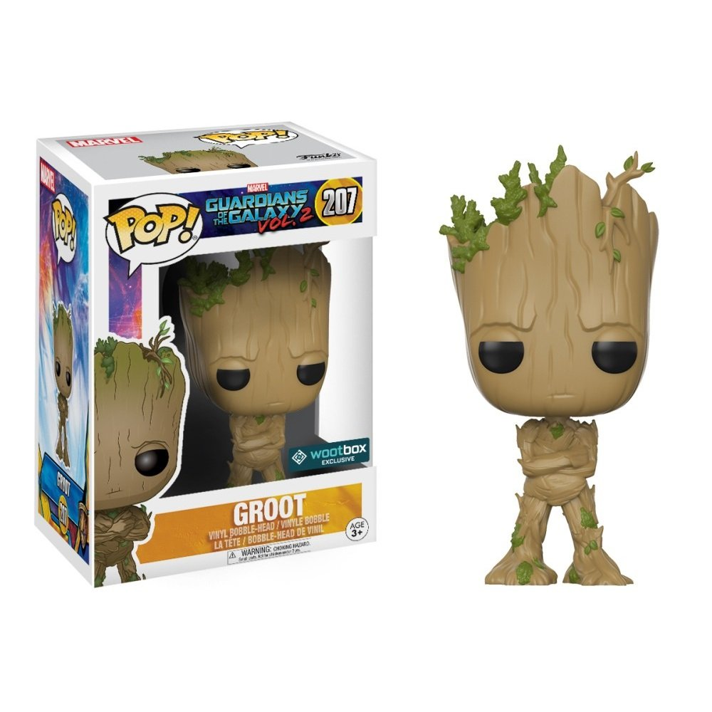 Groot Guardians of the Galaxy Marvel Comics �207 Funko POP! Action Figure Vinyl PVC Minifigure Toy