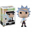 Rick Sanchez Rick and Morty №112 Funko POP! Action Figure Vinyl PVC Minifigure Toy