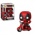 Deadpool on Scooter Marvel Comics №45 Funko POP! Action Figure Vinyl PVC Minifigure Toy