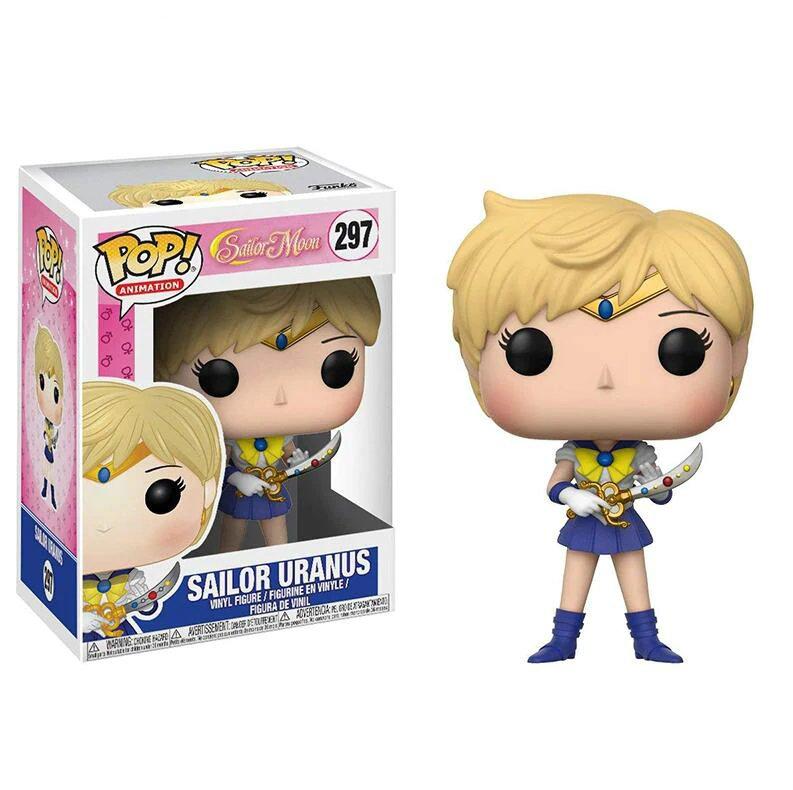 Sailor Uranus Sailor Moon �297 Funko POP! Action Figure Vinyl PVC Minifigure Toy