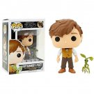 Newt Scamander with Pickett Fantastic Beasts №10 Funko POP! Action Figure Vinyl PVC Minifigure Toy