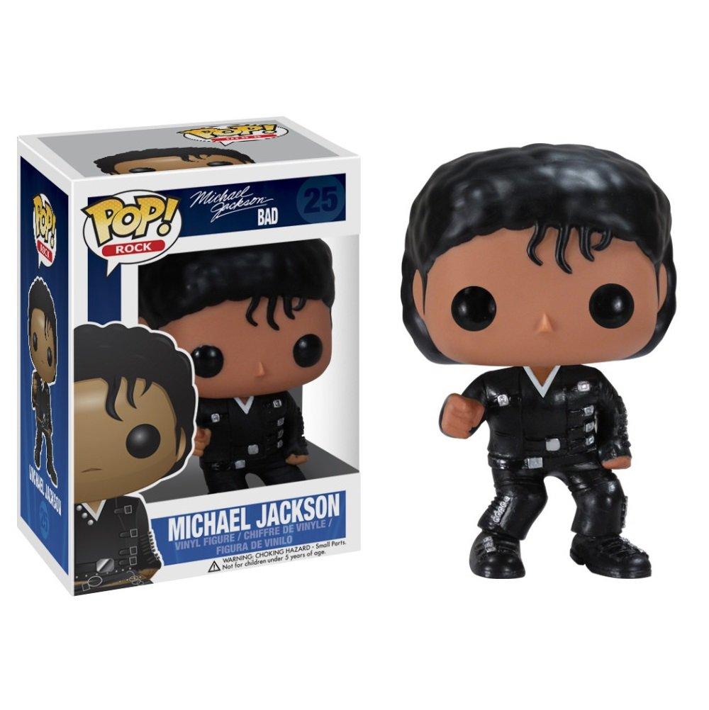 Michael Jackson (Bad) �25 Funko POP! Action Figure Vinyl PVC Minifigure Toy