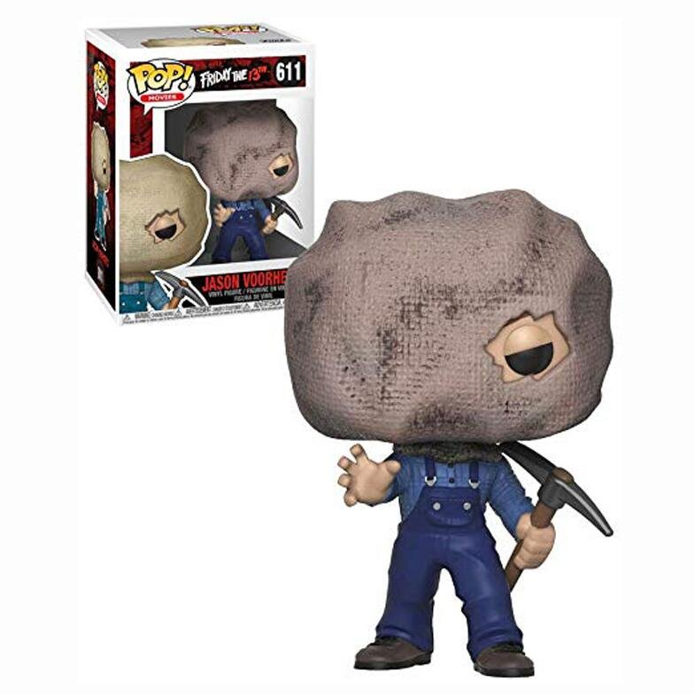 Jason Voorhees (Bag Mask) Friday the 13th �611 Funko POP! Action Figure Vinyl PVC Minifigure Toy