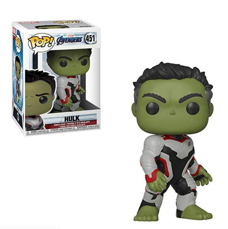 Hulk Avengers Marvel Comics �451 Funko POP! Action Figure Vinyl PVC Minifigure Toy