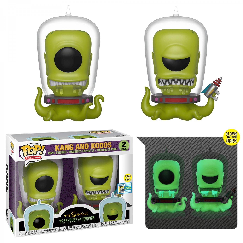 Kang and Kodos The Simpsons �2 Funko POP! Action Figure Vinyl PVC Minifigure Toy