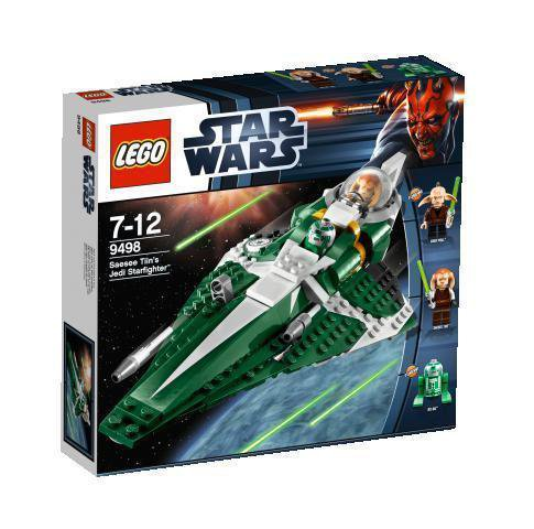 9498 Lego Star Wars Saesee Tiin's Jedi Starfighter
