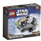 75126 Lego Star Wars First Order Snowspeeder Microfighters